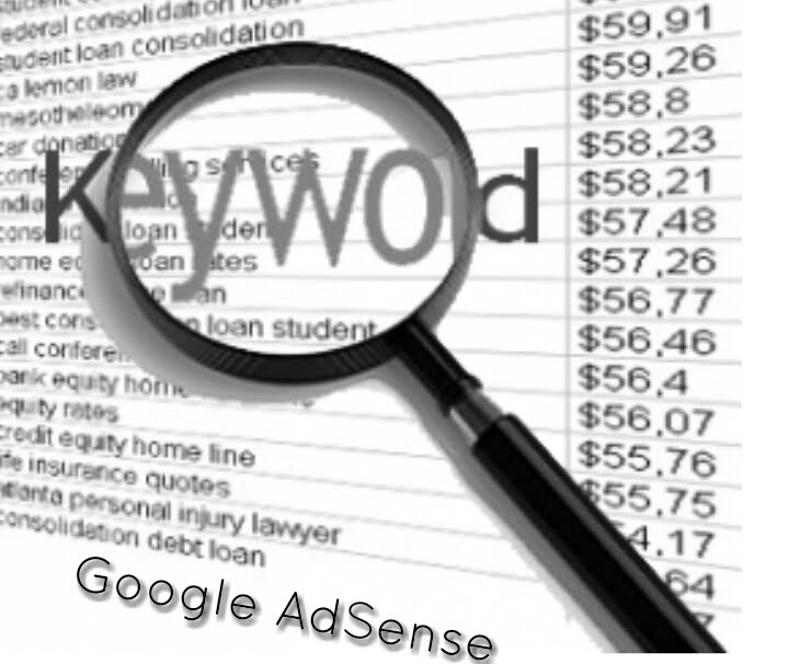 high paying keyword adsense